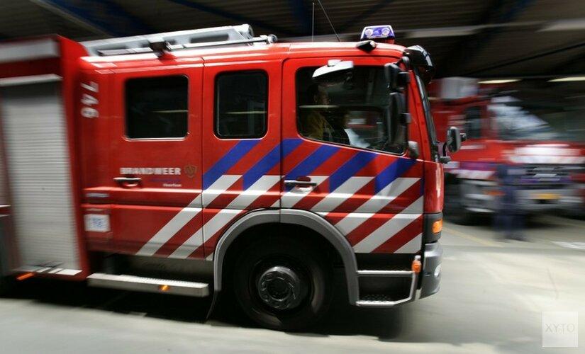 Bestelbus uitgebrand in Zaandam
