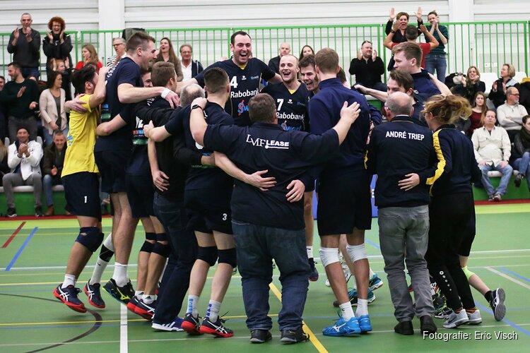 Zaanstad verrast met steun van het Zaanse publiek kampioen Lycurgus