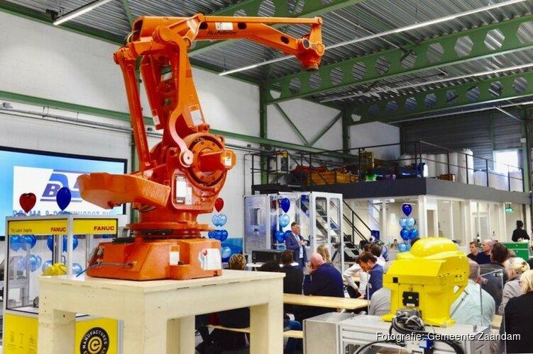 Feestelijke opening Fieldlab Robotica NH
