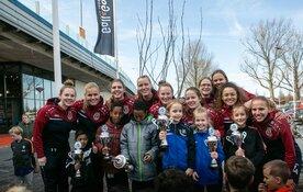 75 Koogse kinderen bij voetbalclinic AH Vos