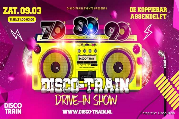 Zaterdag Disco-Train bij Koppie Bar