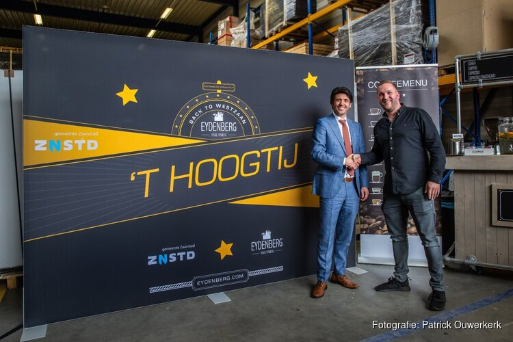 Zaanse bedrijf Eydenberg neemt 7200m2 grond op HoogTij af