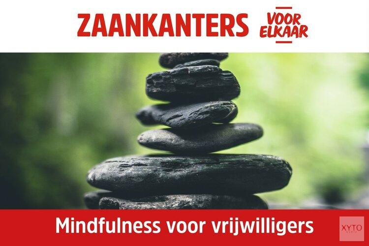 """Zaankanters voor elkaar organiseert workshop """"Mindfulness voor vrijwilligers"""""""