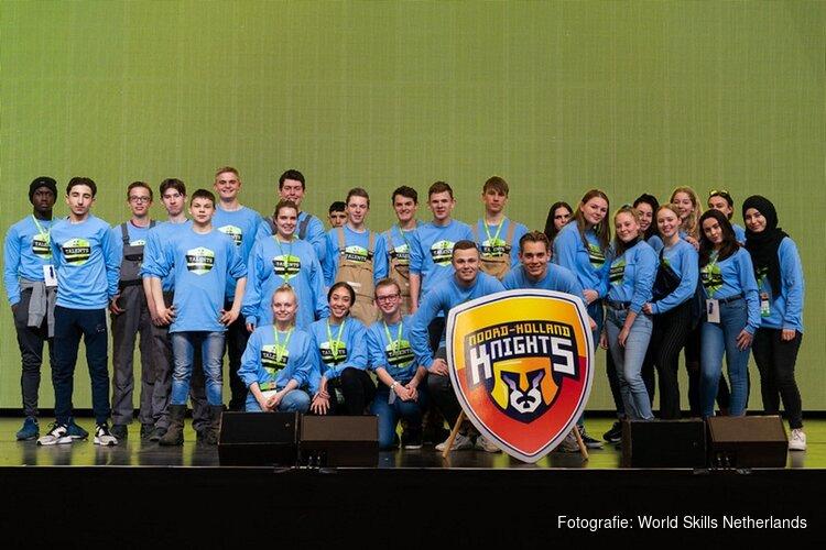 Noord-Holland scoort 3 medailles bij nationale teamvakwedstrijden van Skills Talents