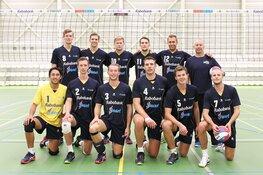 Volleybal eredivisie heren Zaanstad strijdend ten onder tegen Orion