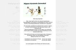 Nishi-dojo Zaandam heeft ruimte voor nieuwe leden