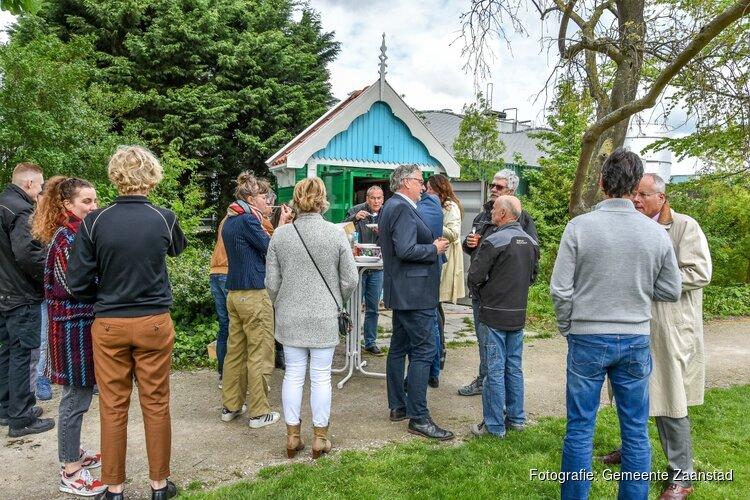 Een Zaans huisje voor de groene vingers van het Volkspark