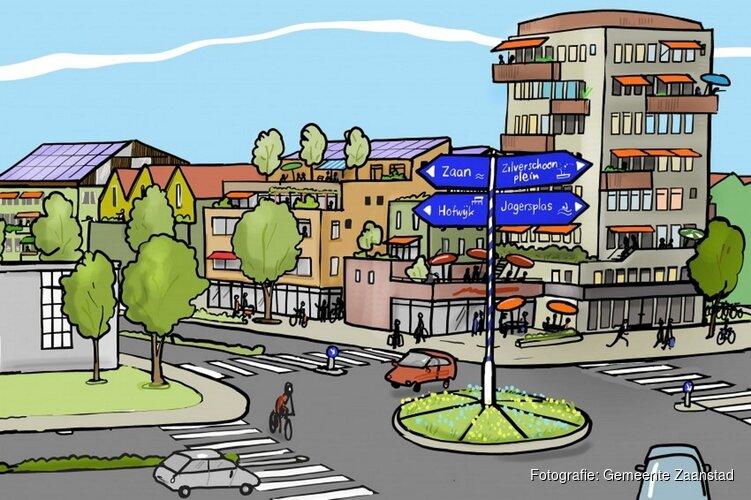 Toekomstbeeld van Kogerveldwijk in 2040