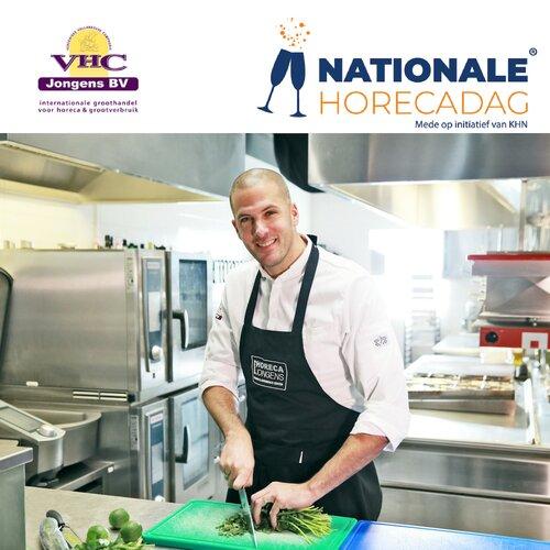 VHC Jongens is trotse partner eerste editie Nationale Horecadag