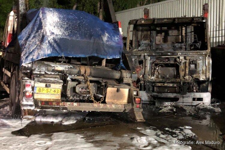 Containerbedrijf looft 1.000 euro uit voor gouden tip na brandstichting vrachtwagens
