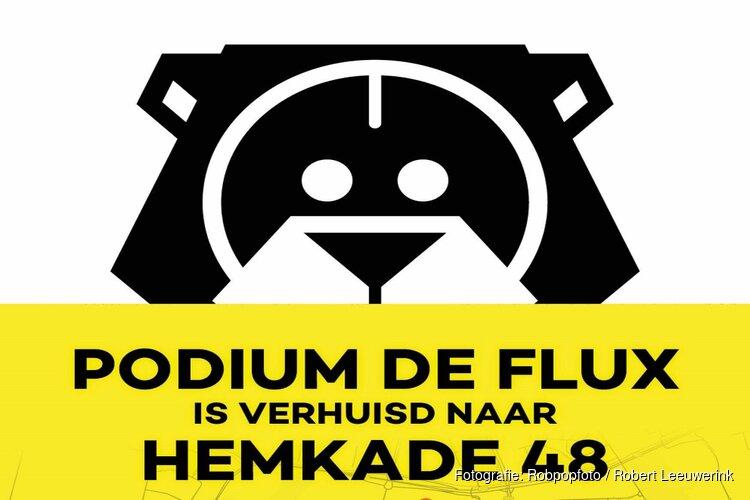 Podium de Flux verhuisd naar Hemkade 48