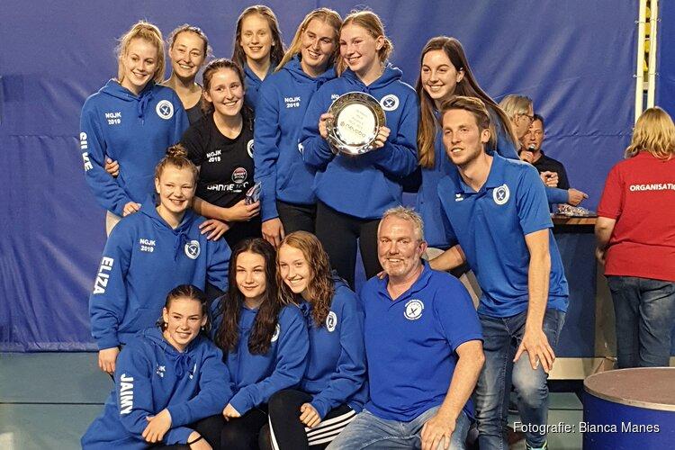 Compaen Meisjes A vice-kampioen van Nederland