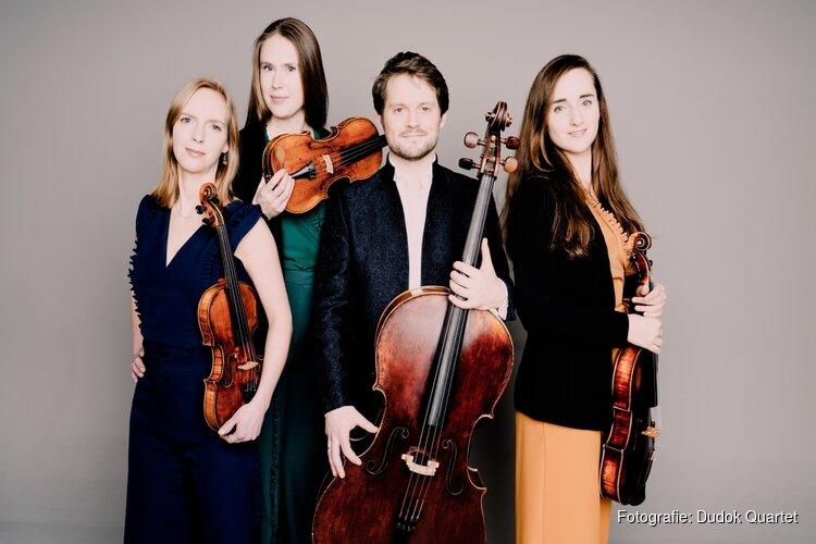 Wereldberoemd kwartet strijkt voor een dag neer in Zaandam