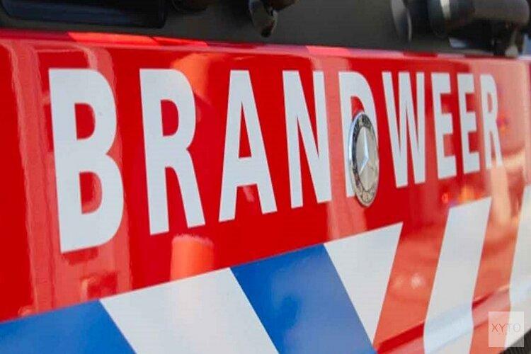 Klein ongelukje in Zaandam mondt uit in felle voertuigbrand