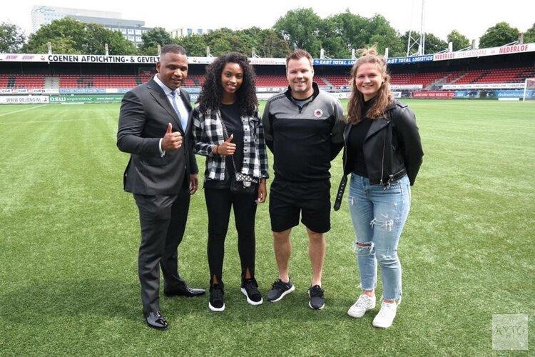 Meisjesdroom van Zaanse Michelle Oussoren komt uit door overstap naar de Eredivisie