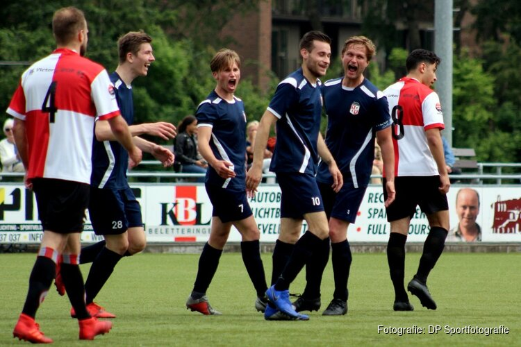 Sporting Krommenie zet eerste stap richting promotie