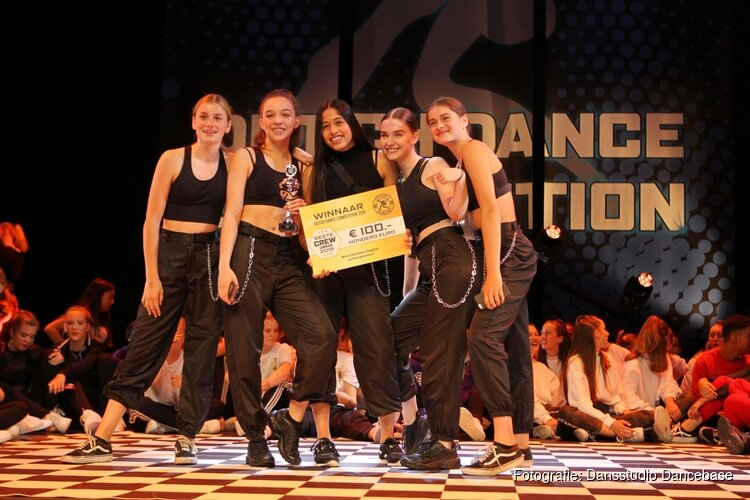 Mooie beloning voor dansstudio Dancebase tijdens Dutch Dance Competition in Zaandam