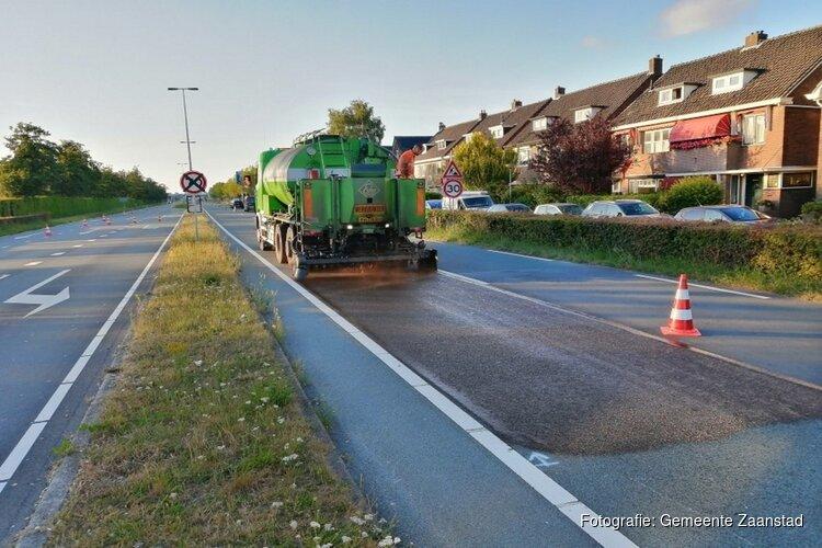Zaanstad aan de slag met het 'verjongen' van asfalt