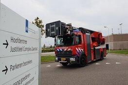 Zwaargewonde door brand in gevangenis Westzaan