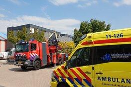Brand op dakterras woning Zaandam