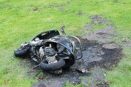 Scooter in brand in Darwinpark