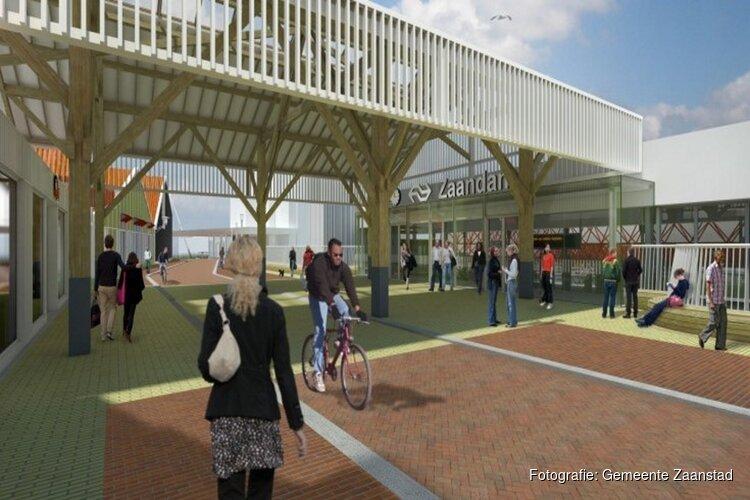 Na het weekend nieuwe ingang station Zaandam