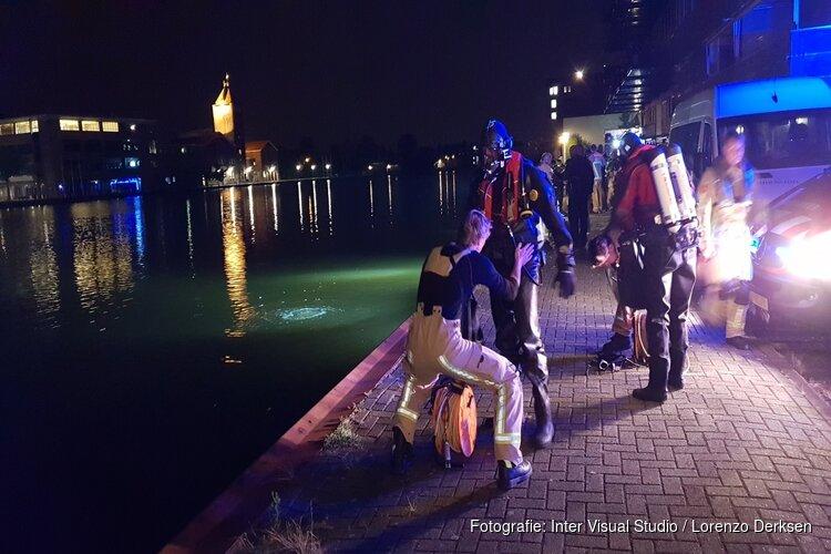 Nachtelijke duikactie in de Zaan