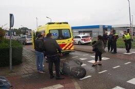 Scooterrijder gewond in Zaandam