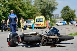 Motorrijder overleden na eenzijdig verkeersongeval