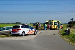 Fietsster gewond in Assendelft