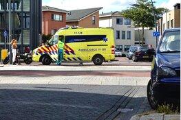 Motorrijder gewond geraakt bij aanrijding