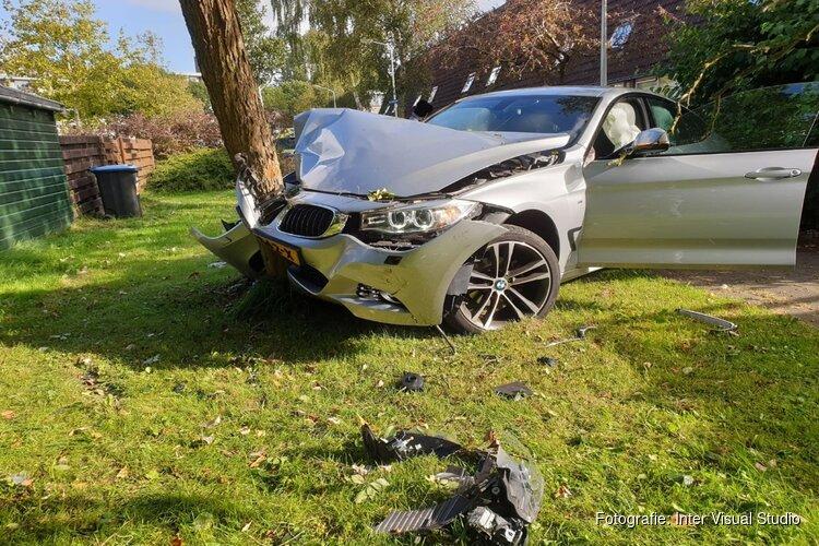 Automobiliste gewond door besturingsfout
