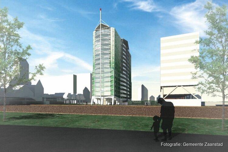 Catharinatoren wordt nieuw icoon in het stationsgebied van Zaandam