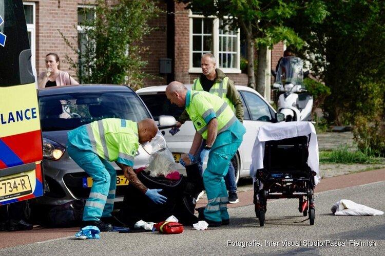 Fietsster te laat gezien in Oostzaan, raakt gewond