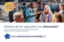 Zaanstad start campagne 'Samen Dementievriendelijk' op Wereld Alzheimer Dag