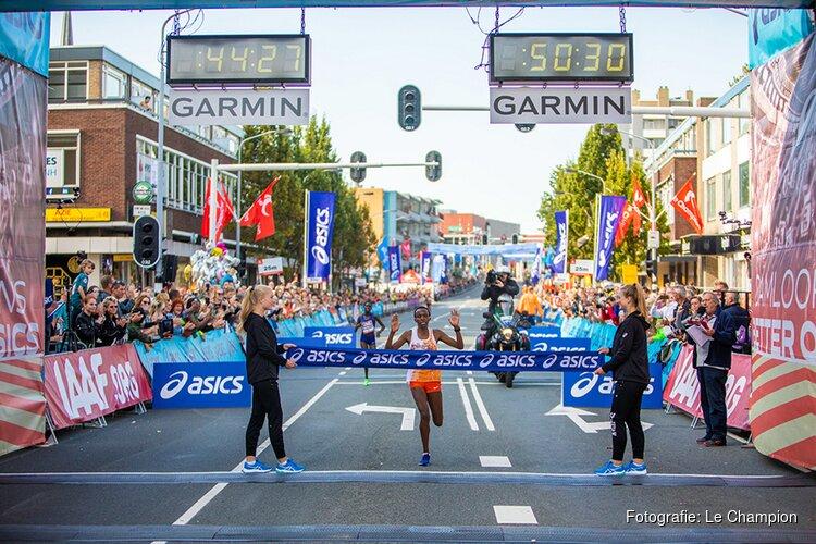 Evaline ChirChir en Solomon Berihu winnen Dam tot Damloop