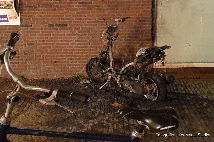 Brandstichting in centrum Zaandam