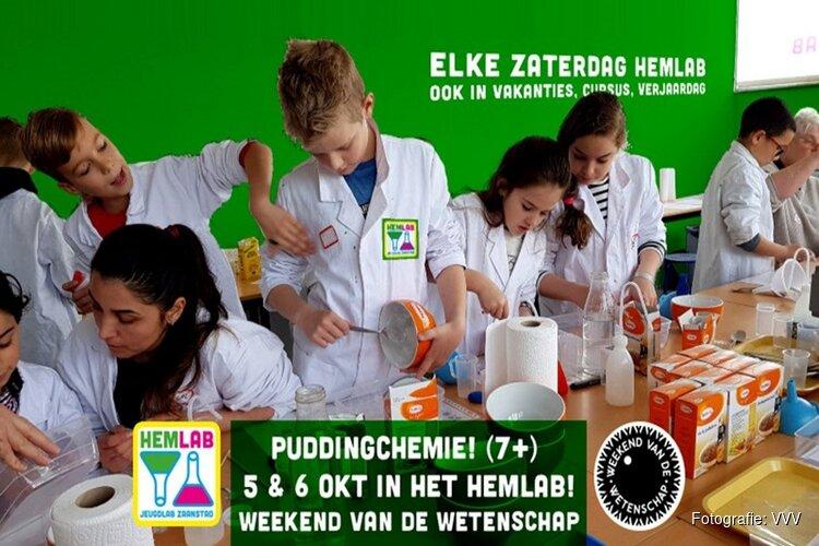 Puddingchemie! Weekend van de Wetenschap
