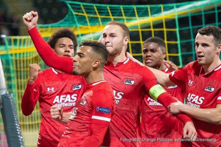 AZ is met 6-0 nog genadig voor FC Astana
