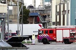 Brand bij fabriek in Wormerveer