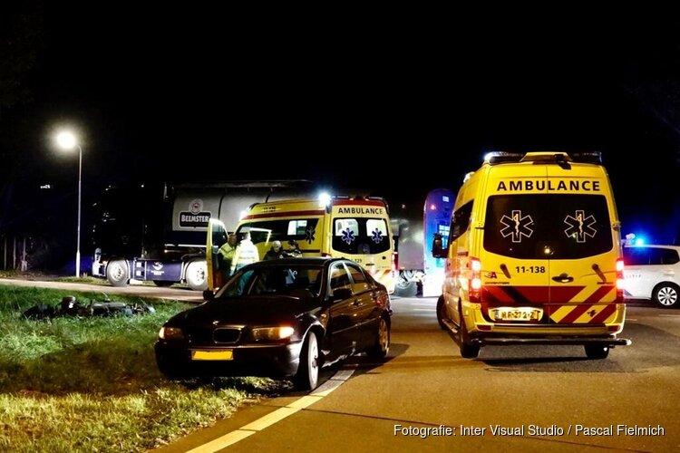 Traumahelikopter geland na aanrijding in Wijdewormer