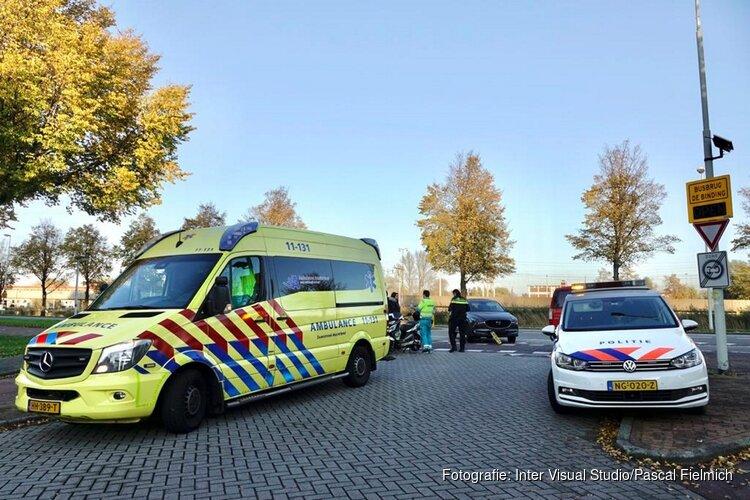 Gewonde bij ongeval Edamstraat