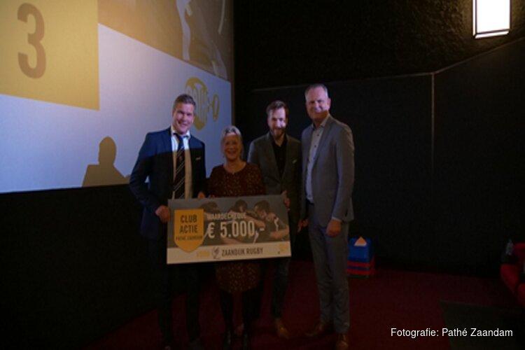 Zaandijk Rugby winnaar Pathé Zaandam Club Actie