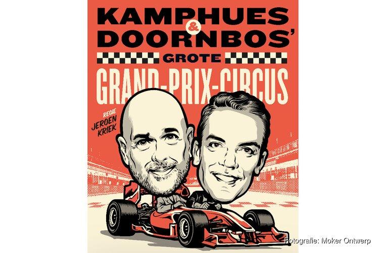 Kamphues & Doornbos' grote Grand Prix Circus Met Robert Doornbos en Rob Kamphues