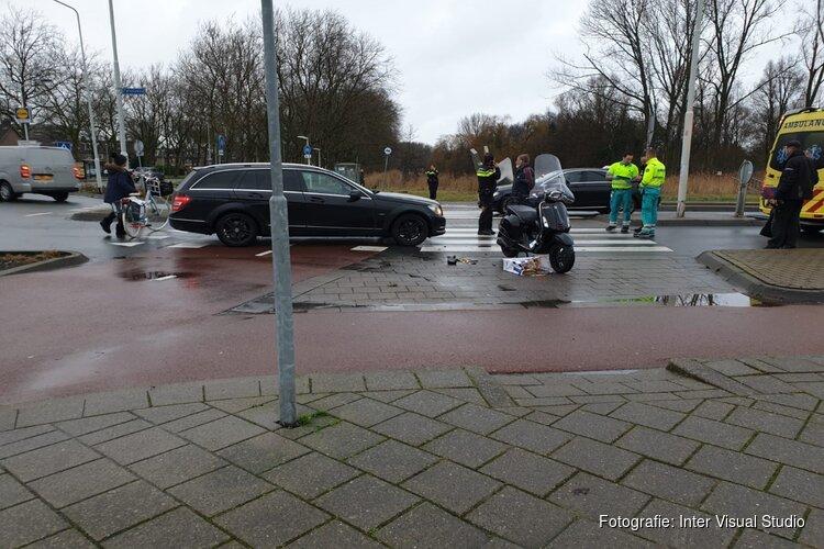 Scooter aangereden op rotonde Twiskeweg