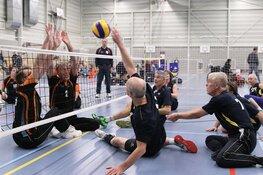 Zaanstad winterkampioen eerste divisie zitvolleybal