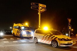 Fietser naar het ziekenhuis na ongeluk in Assendelft