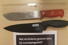 Opnieuw messen aangetroffen na fouilleeracties in de Zaanstreek