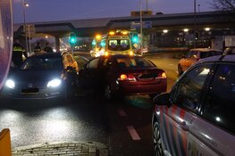 Aanrijding in Koog aan de Zaan: twee gewonden
