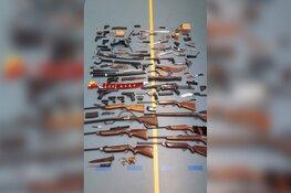 Al bijna honderd wapens vrijwillig ingeleverd bij politie Zaanstreek
